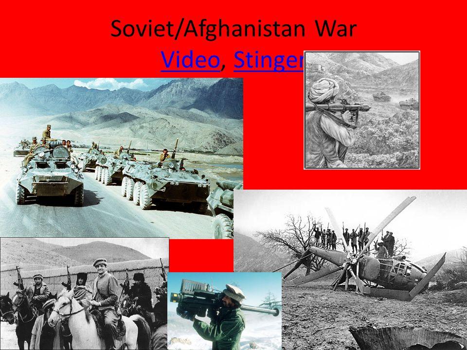 Soviet/Afghanistan War Video, Stinger VideoStinger