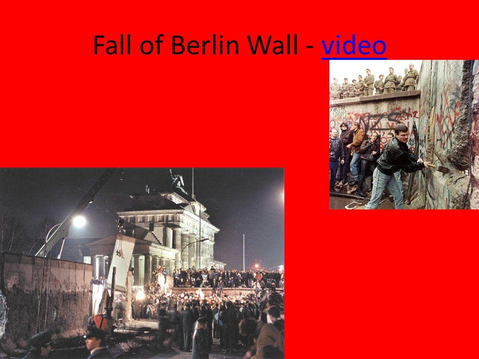 Fall of Berlin Wall - videovideo