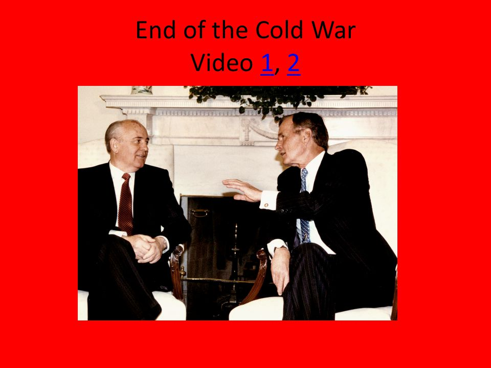End of the Cold War Video 1, 212