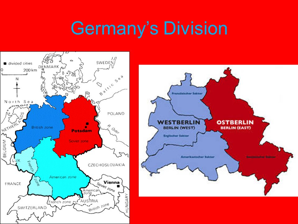 Germany's Division