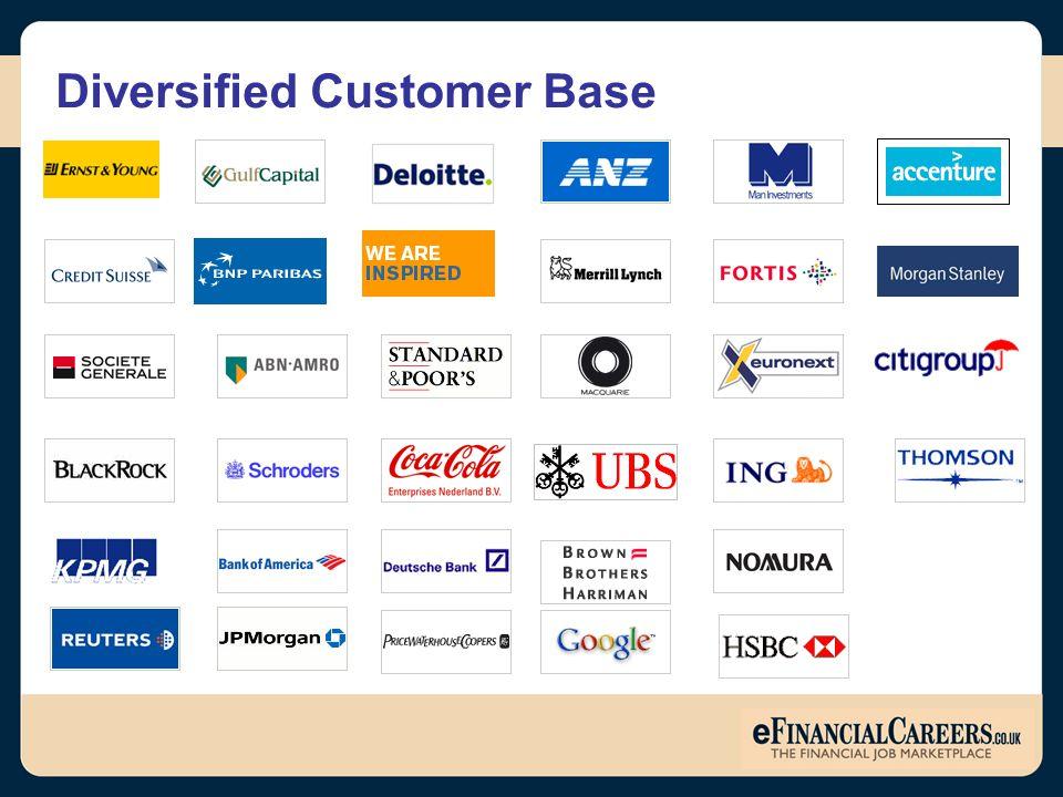 Diversified Customer Base