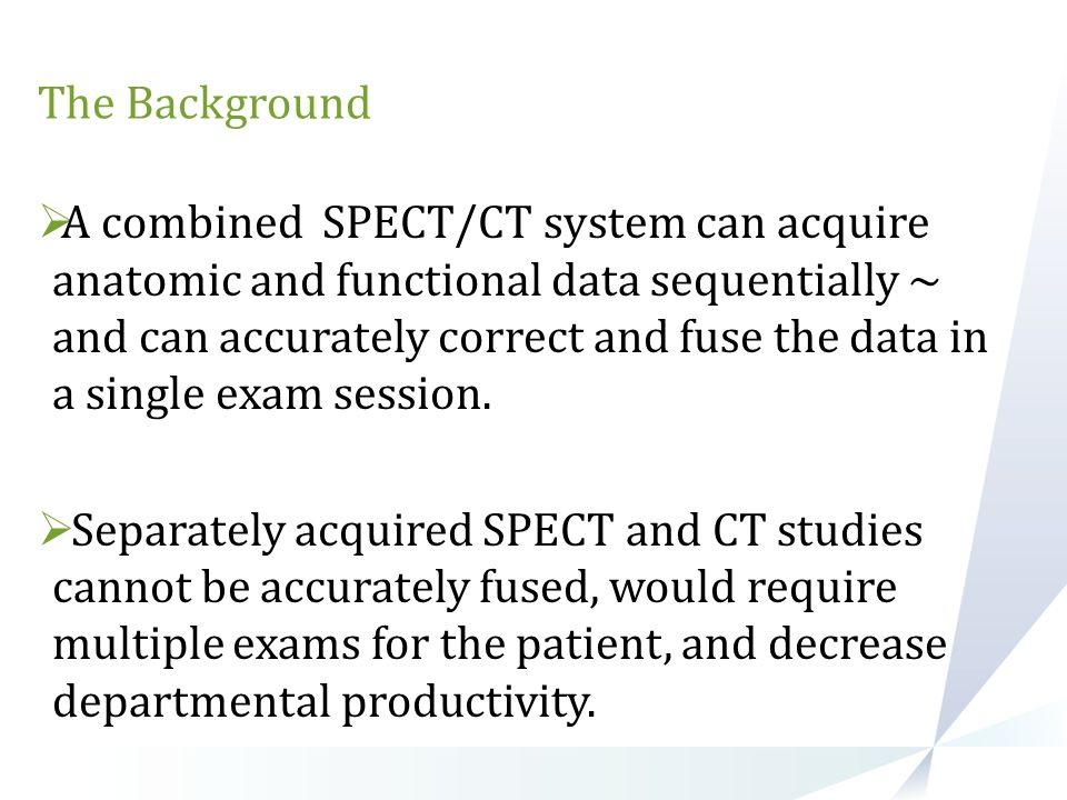 Clinical Applications of SPECT /CT- The Details Skeletal Disease The first report demonstrating the superiority of SPECT/ CT over planar imaging or SPECT was published by R¨omer et al.In this retrospective study, SPECT-guided Ct was reported to clarify more than 90% of bone lesions that were indeterminate at SPECT: 63% of indeterminate findings could be definitely assigned as benign lesions involving mostly osteochondrosis, spondylosis, or spondylarthrosis of the spine; 29% of lesions could be clearly assigned as osteolytic or osteosclerotic bone metastases; and 4 lesions (8%) remained indeterminate at SPECT/CT because of a missing anatomic correlate.