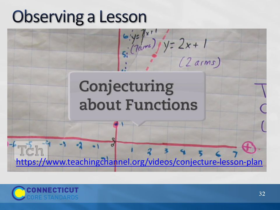 32 https://www.teachingchannel.org/videos/conjecture-lesson-plan
