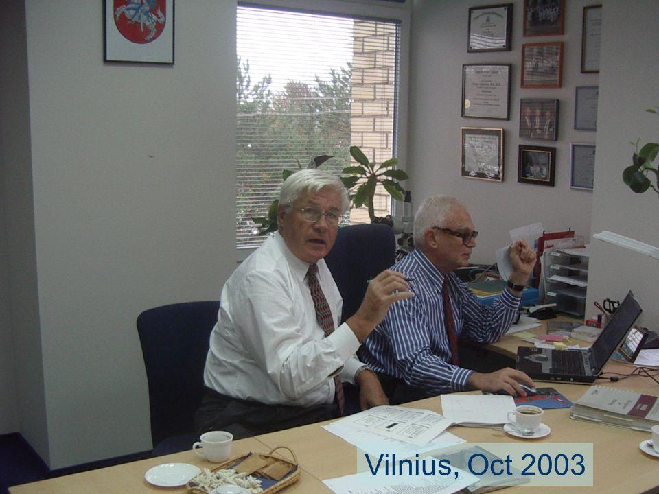 Vilnius, Oct 2003