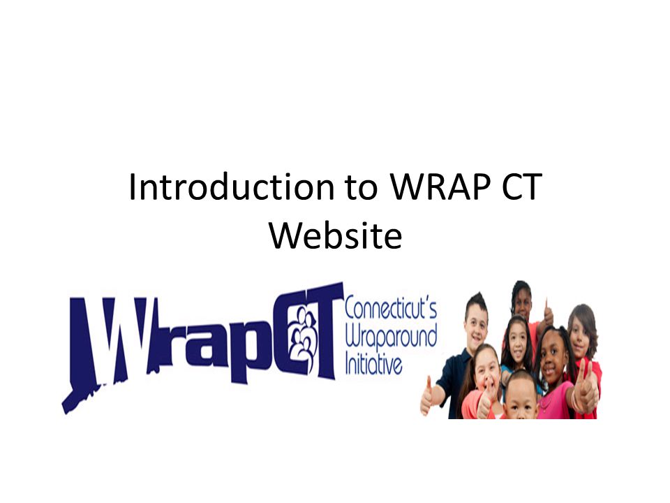 Introduction to WRAP CT Website