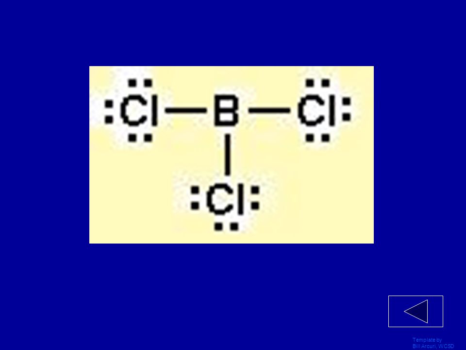 Template by Bill Arcuri, WCSD Draw the LDS for Boron Trichloride