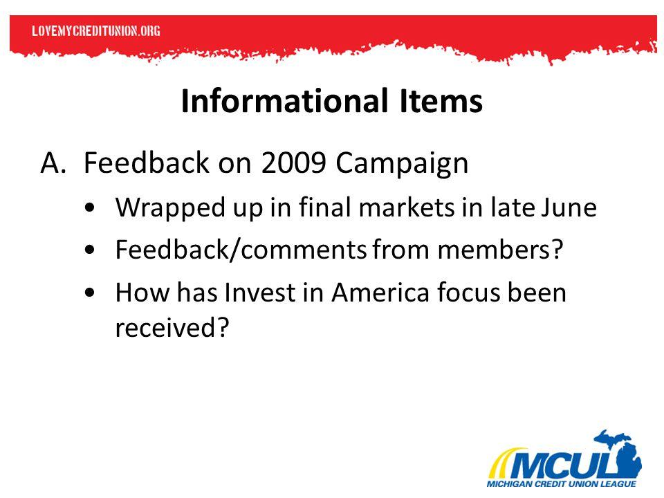 Informational Items B.