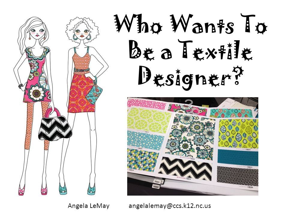 Apparel Enterprise II Textile Designers