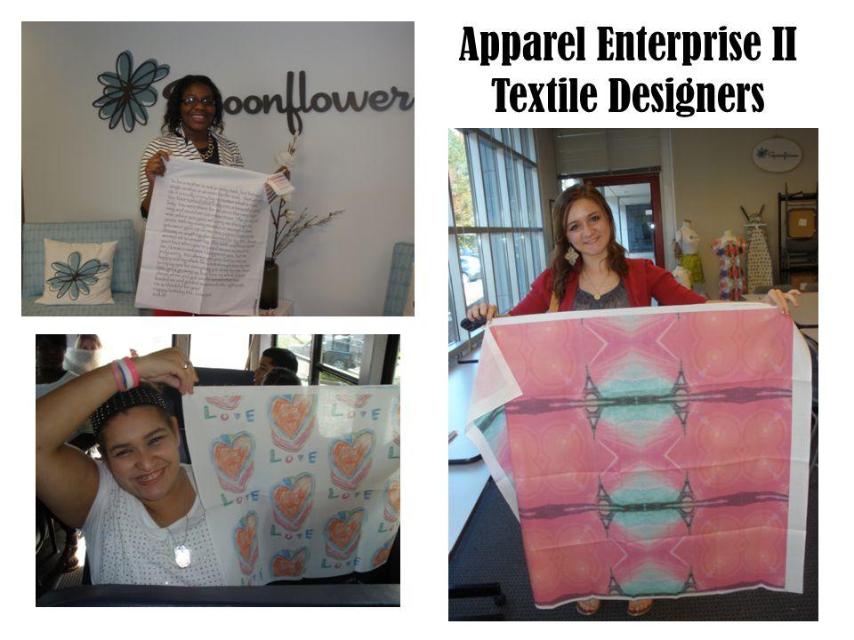 Apparel Enterprise II Textile Designers