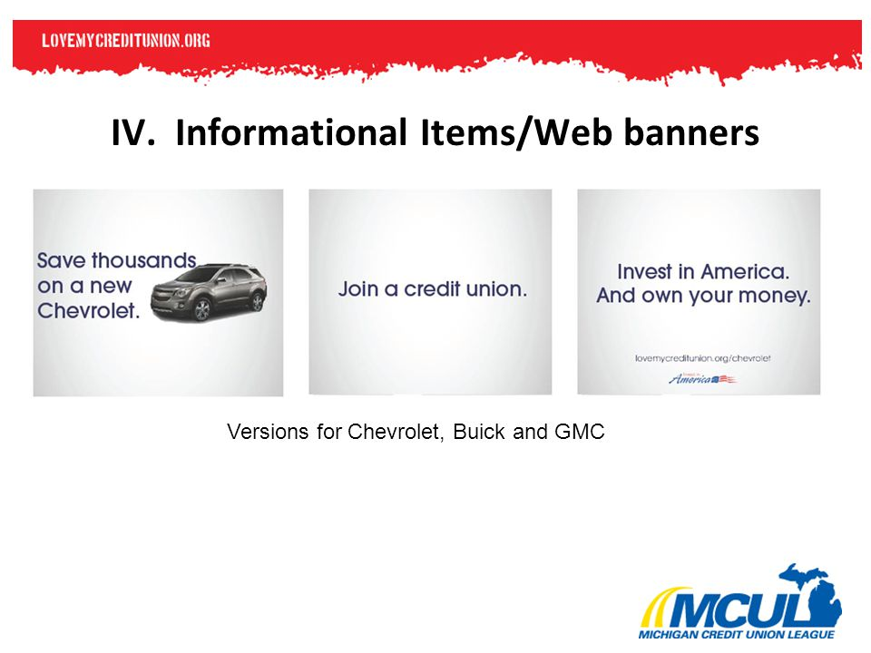 Versions for Chevrolet, Buick and GMC