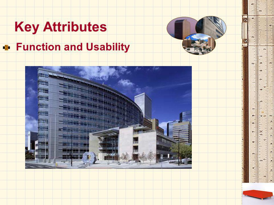 Key Attributes Function and Usability