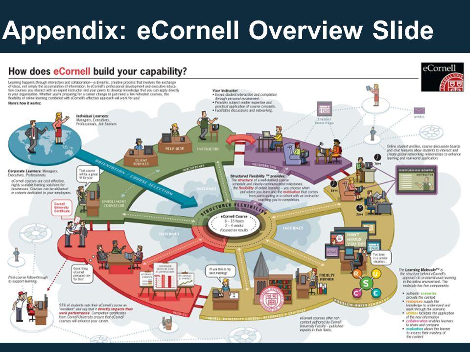 Appendix: eCornell Overview Slide