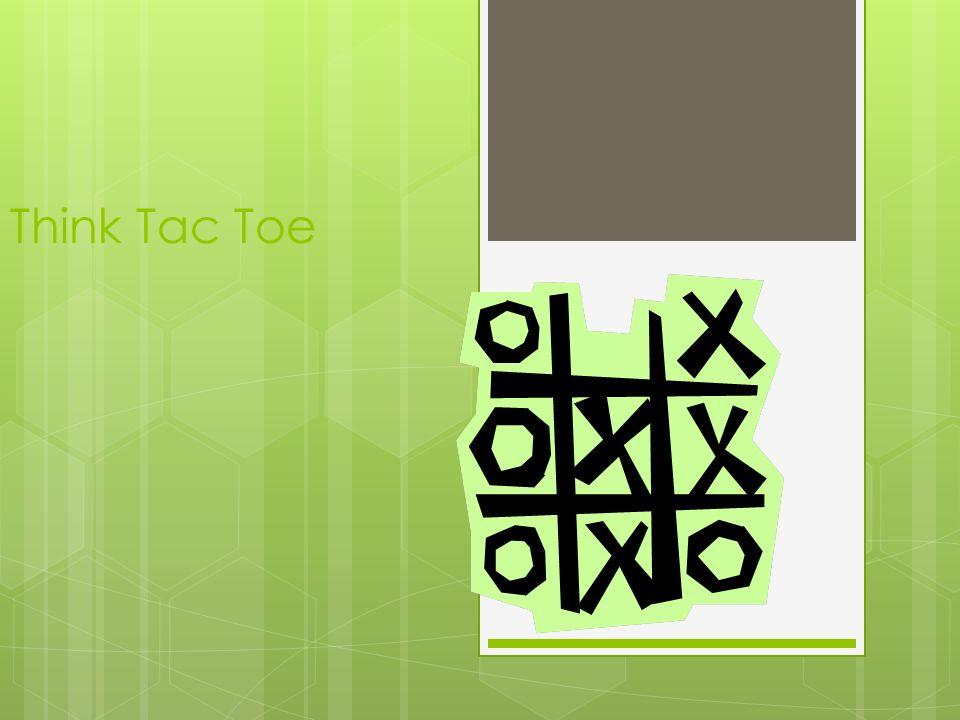 Think Tac Toe