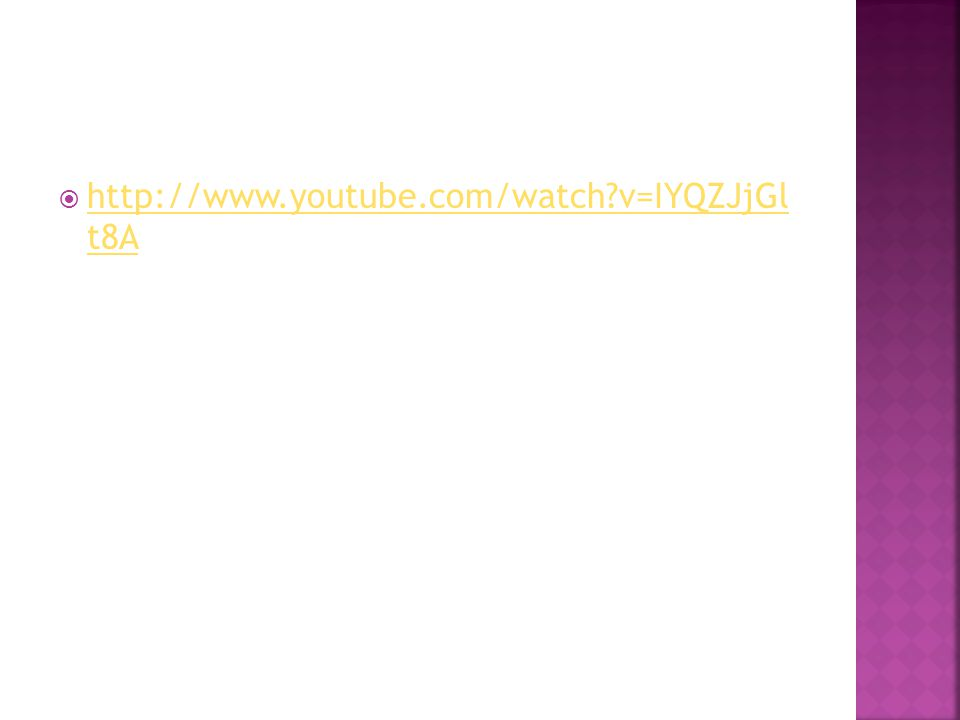  http://www.youtube.com/watch v=IYQZJjGl t8A http://www.youtube.com/watch v=IYQZJjGl t8A