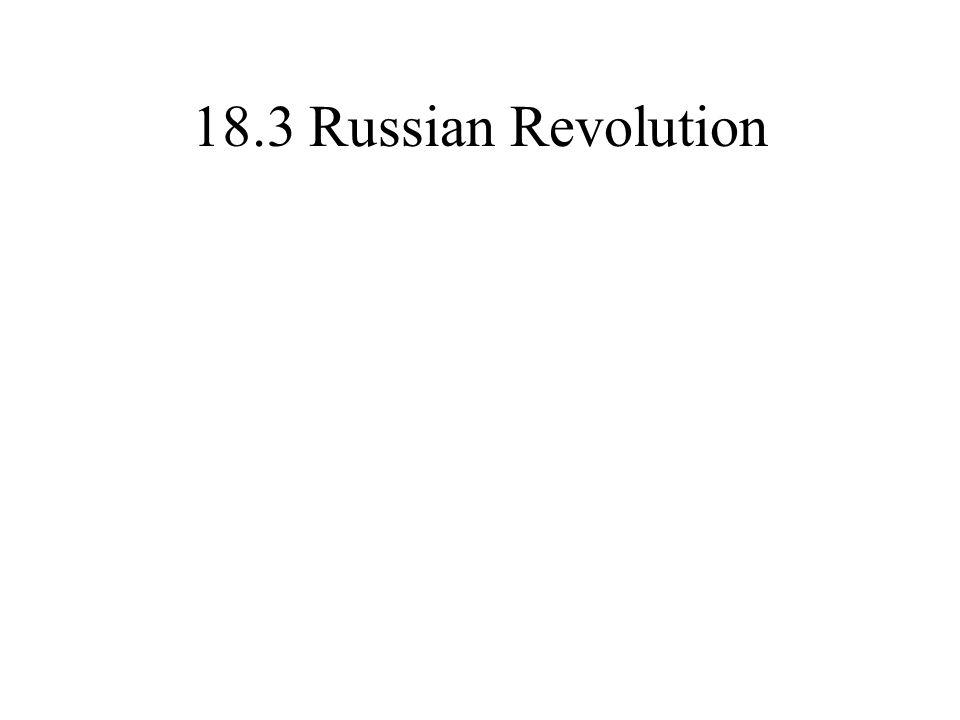 18.3 Russian Revolution