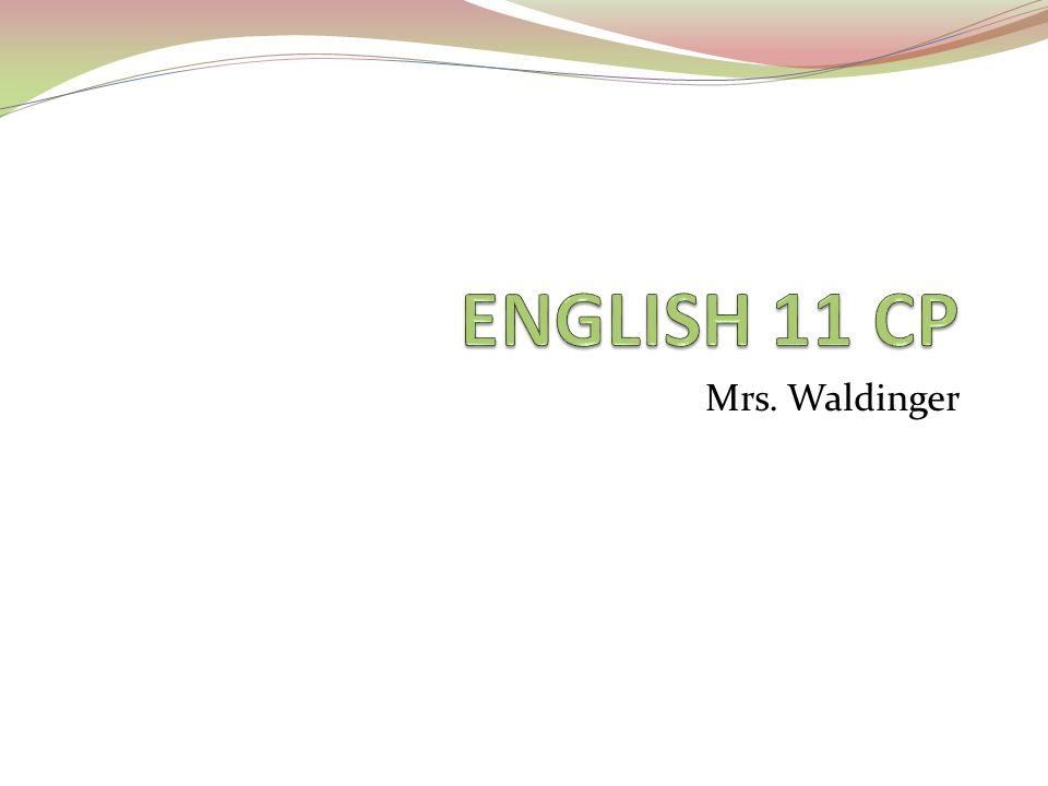 Mrs. Waldinger