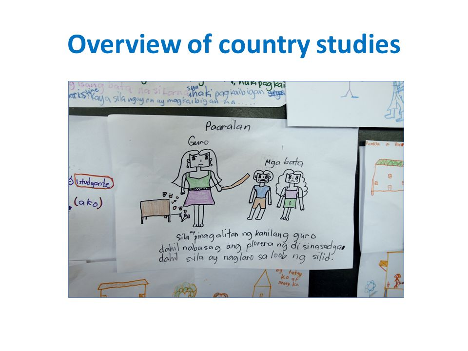Overview of country studies