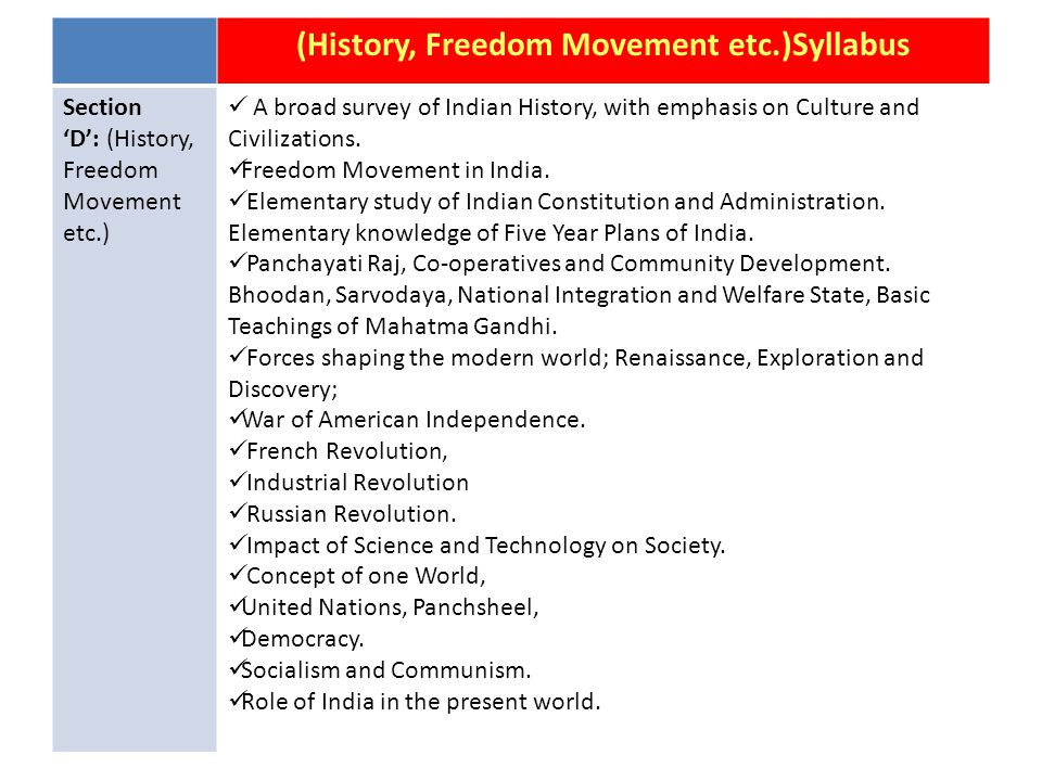 General Science Syllabus Section 'C' (General Science): Difference between the living and non- living.
