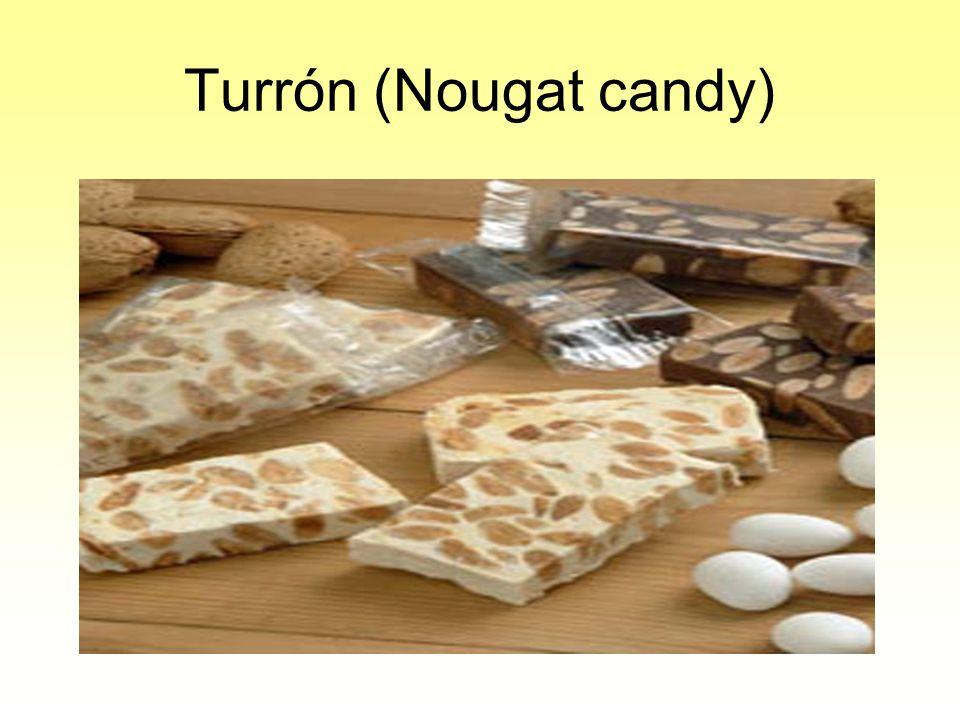 Turrón (Nougat candy)