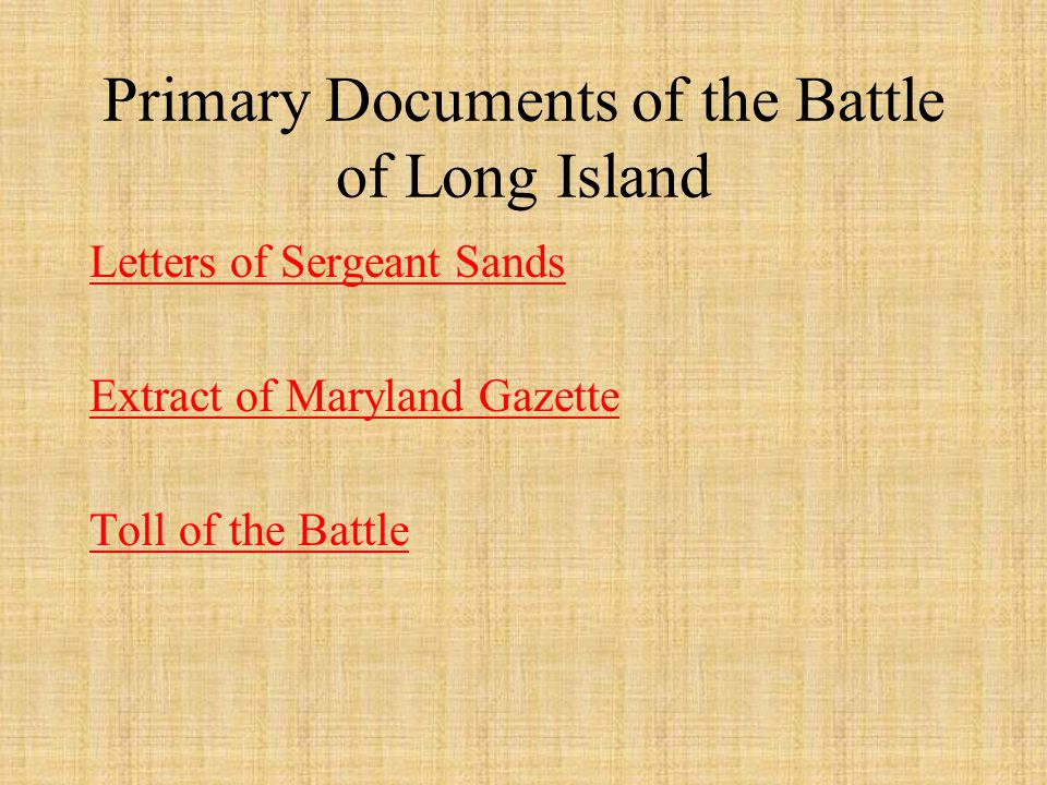 The contribution and sacrifice of the Maryland Line at the Battle of Long Island during the American Revolution On August 27, 1776, some four hundred