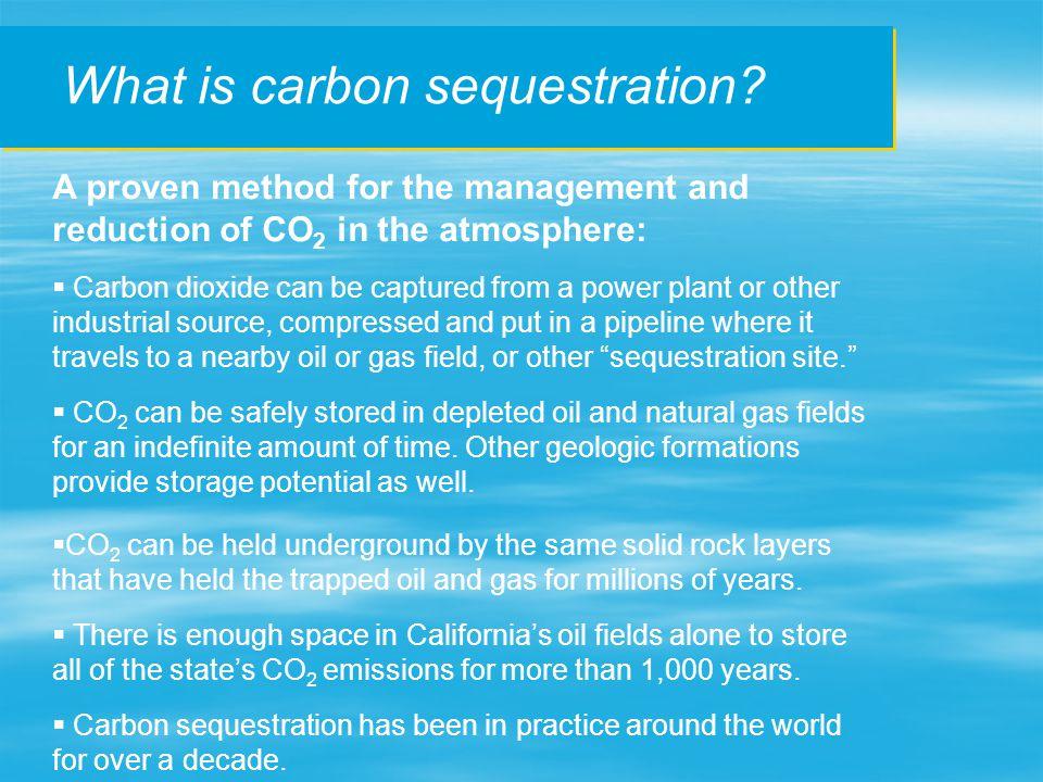 How is CO 2 held permanently underground.