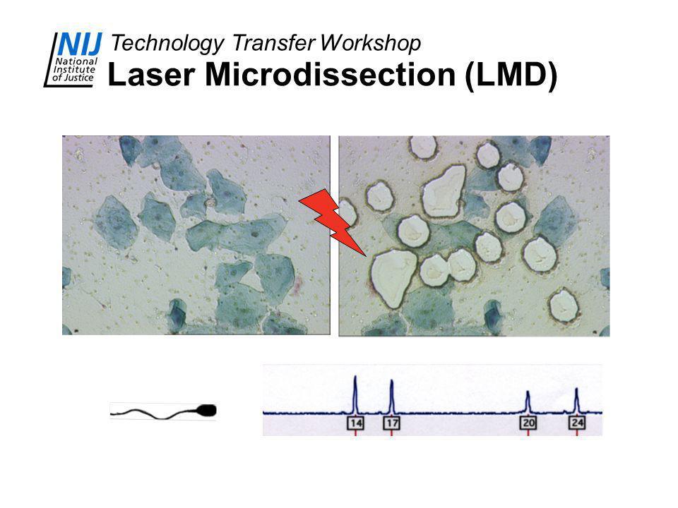 Technology Transfer Workshop Laser Microdissection (LMD)