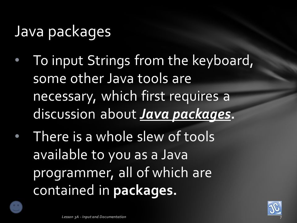 A package is essentially a bag of programming tools .