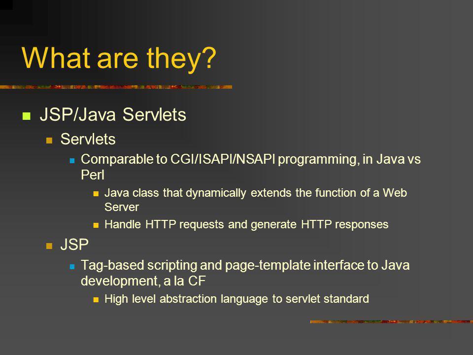Server Process for JSP