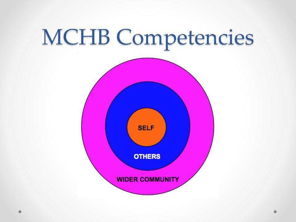 MCHB Competencies