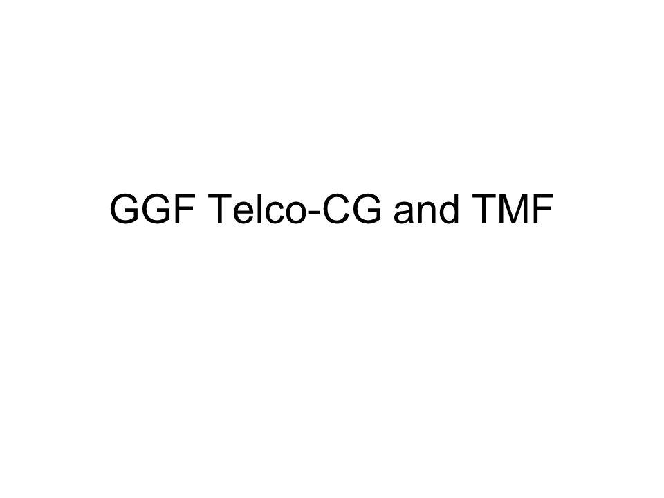 GGF Telco-CG and TMF