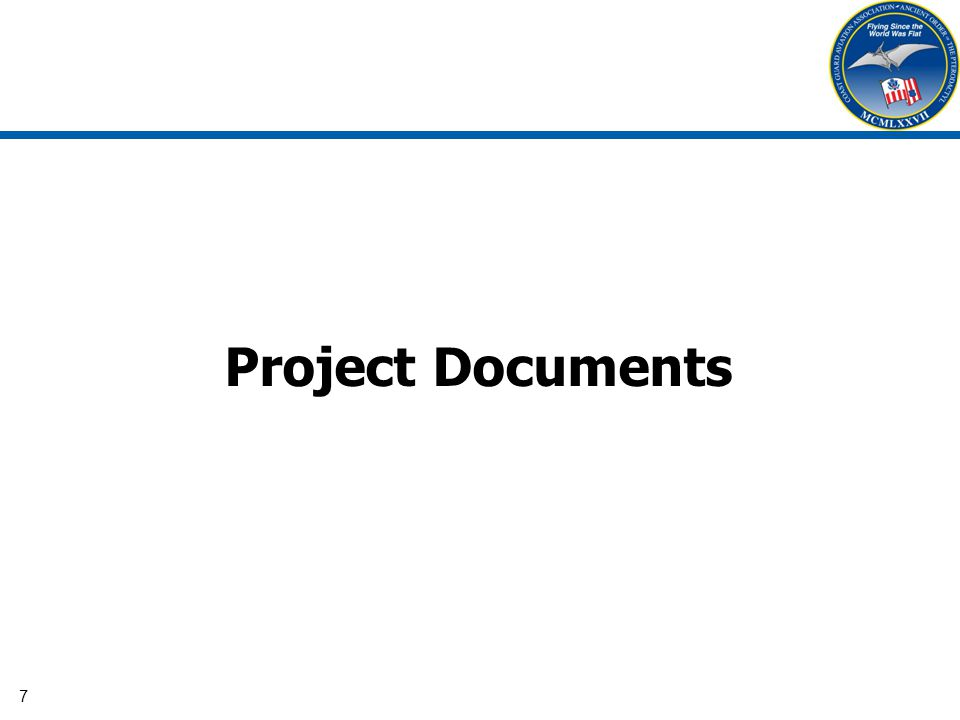 7 Project Documents