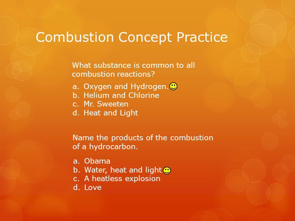 Balancing a Combustion Equation Balancing a combustion equation is just like balancing a regular chemical equation.