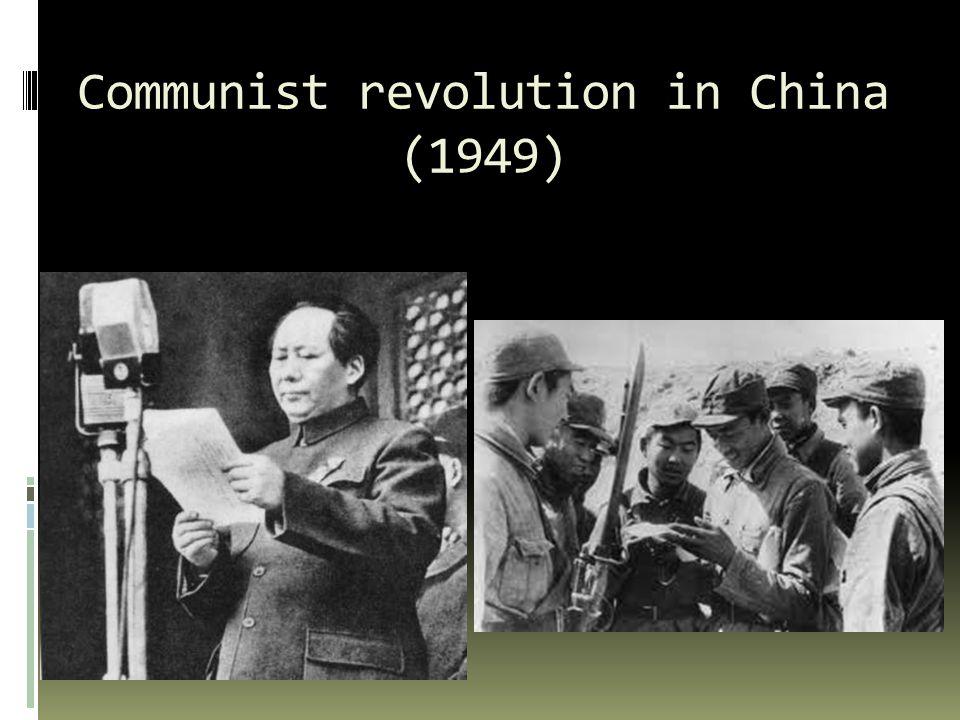 Communist revolution in China (1949)