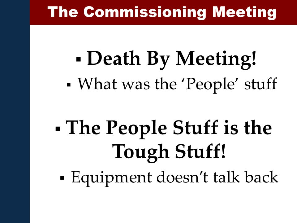 Death By Meeting.