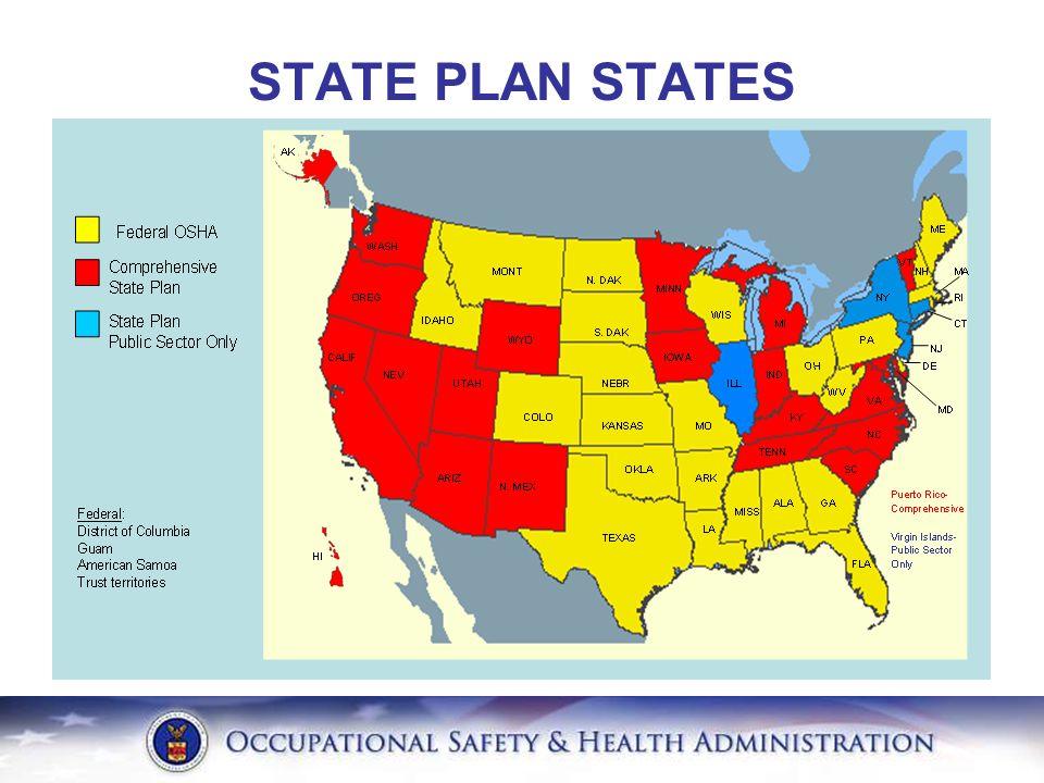 STATE PLAN STATES