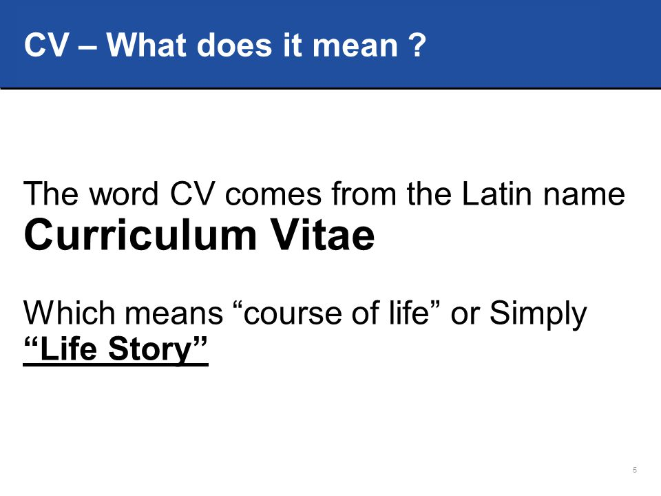 16 s Don't write CV at the top.s Don't put picture unless it is requested.