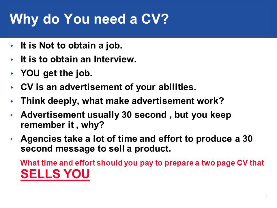 18 4 Resume Essentials 4.More resumes…….. More chances.
