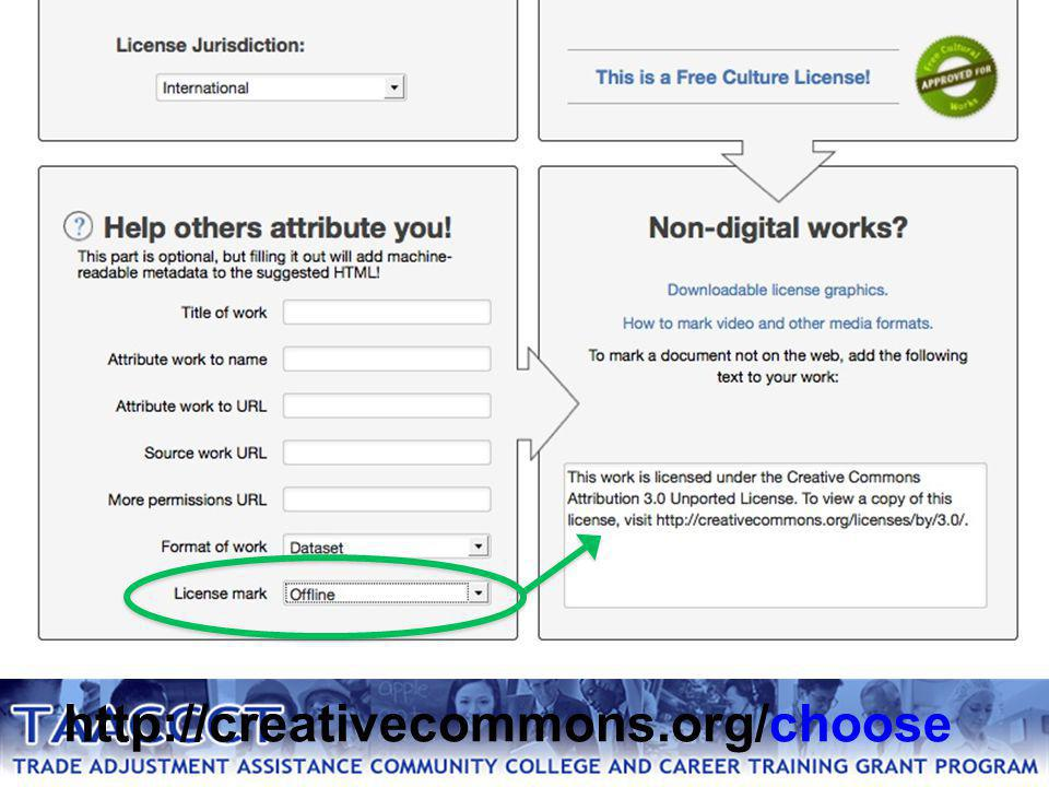 http://creativecommons.org/choose