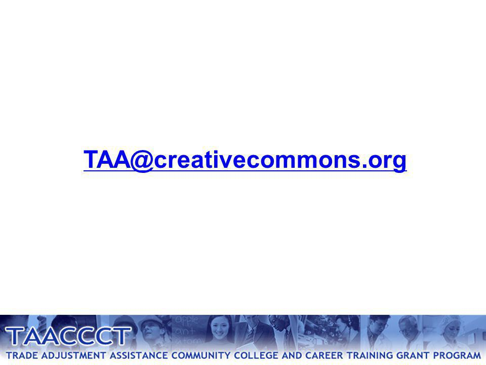 TAA@creativecommons.org
