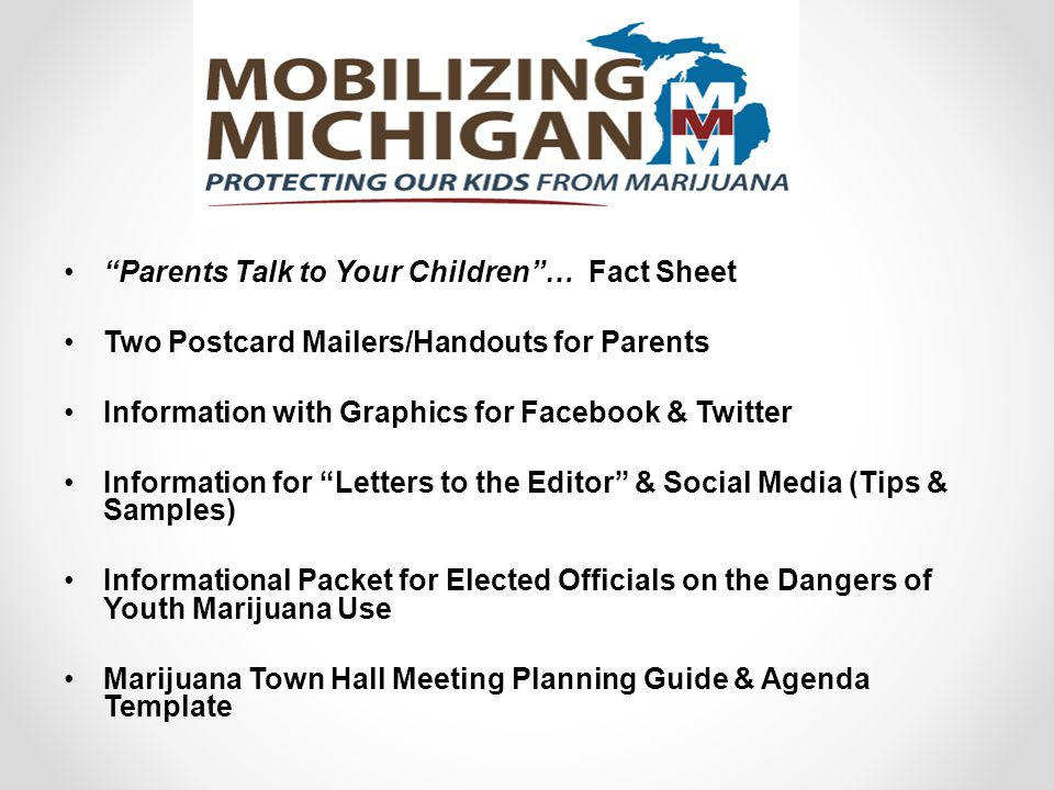 """""""Parents Talk to Your Children""""… Fact Sheet Two Postcard Mailers/Handouts for Parents Information with Graphics for Facebook & Twitter Information for"""