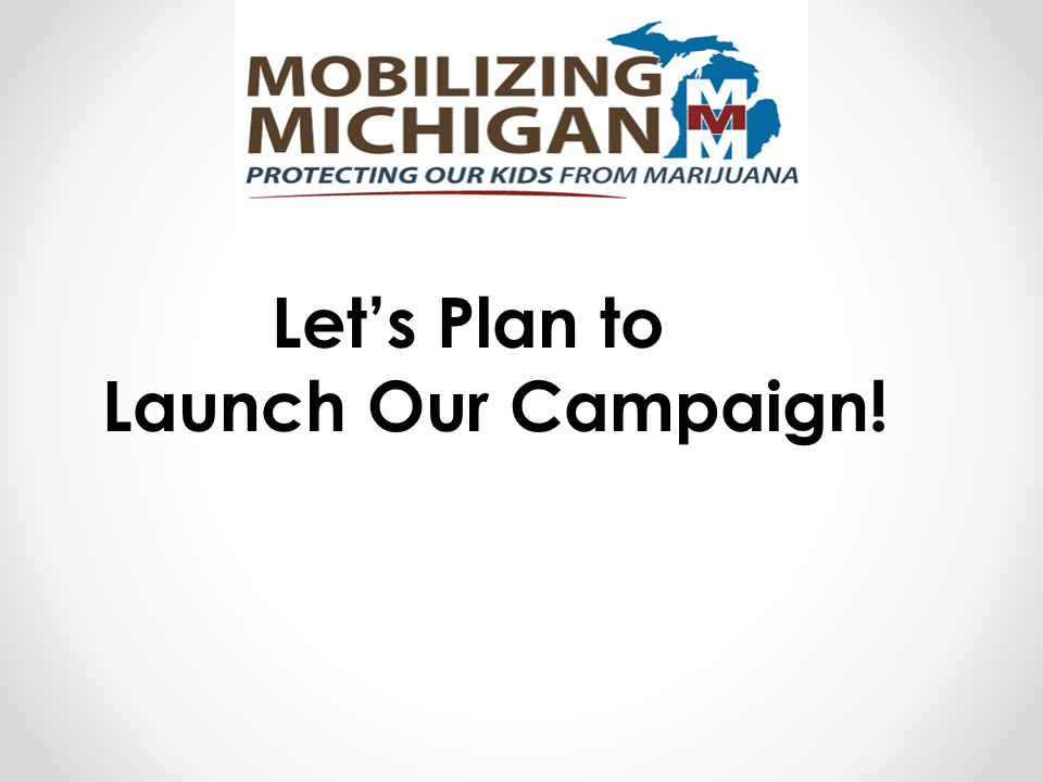 Let's Plan to Launch Our Campaign!
