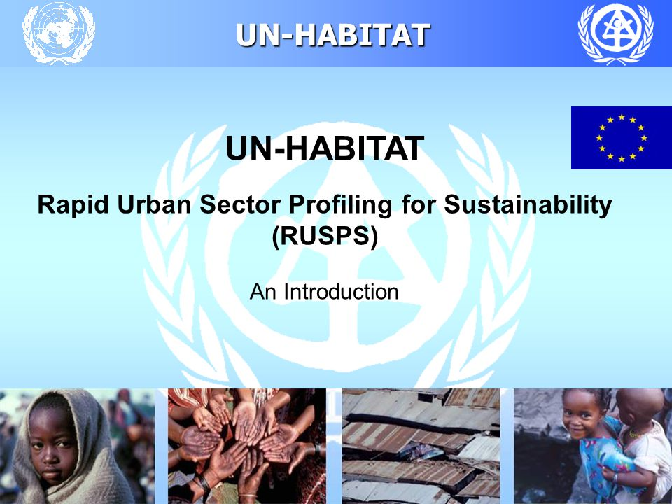 UN-HABITAT 38 Participating Countries