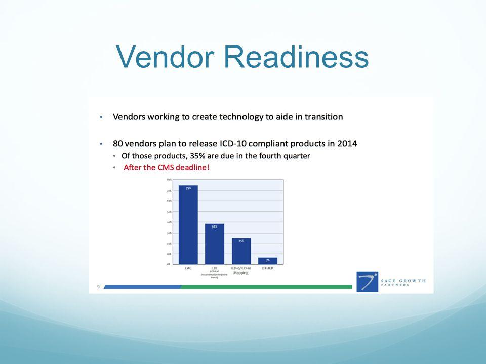 Vendor Readiness