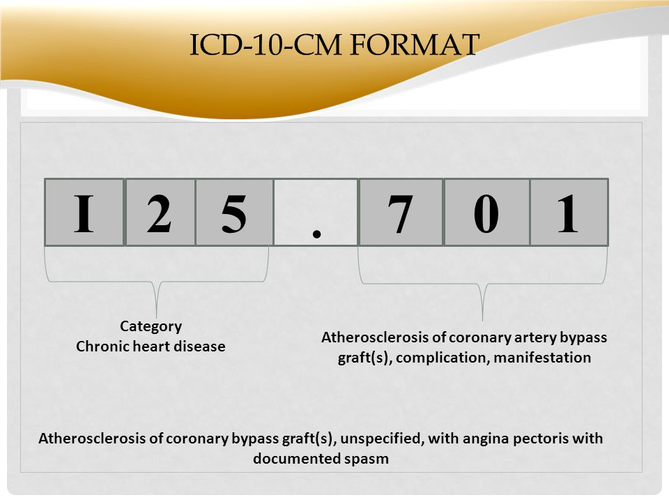 S ICD-10-CM FORMAT 5.
