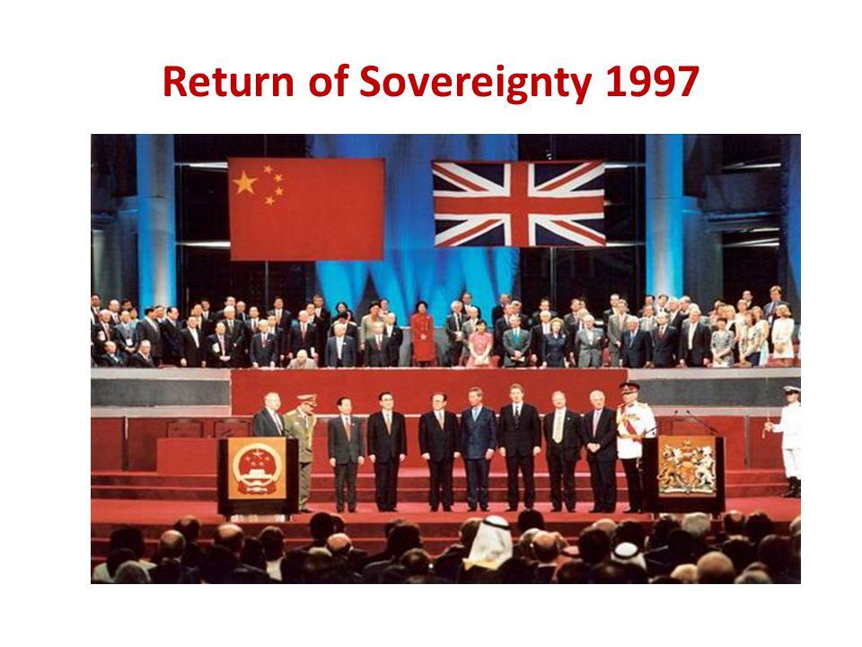 Return of Sovereignty 1997