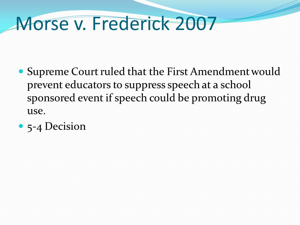 Other Cases Schenck v.