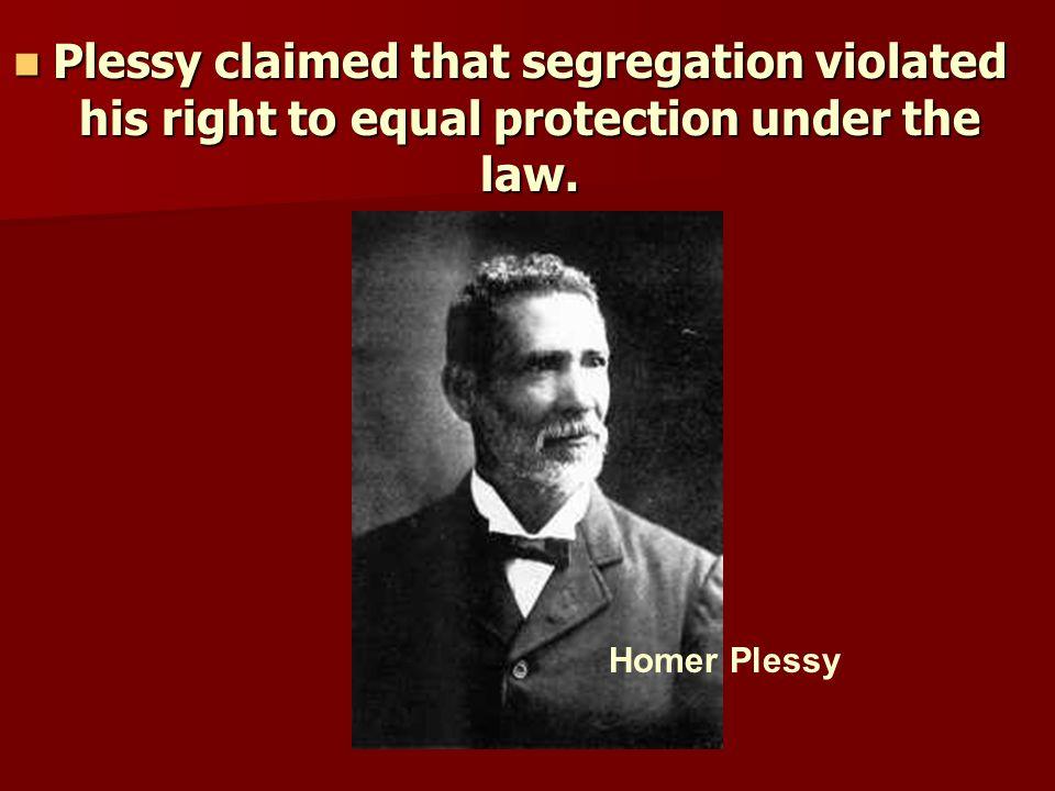 It took many decades to abolish legal segregation.