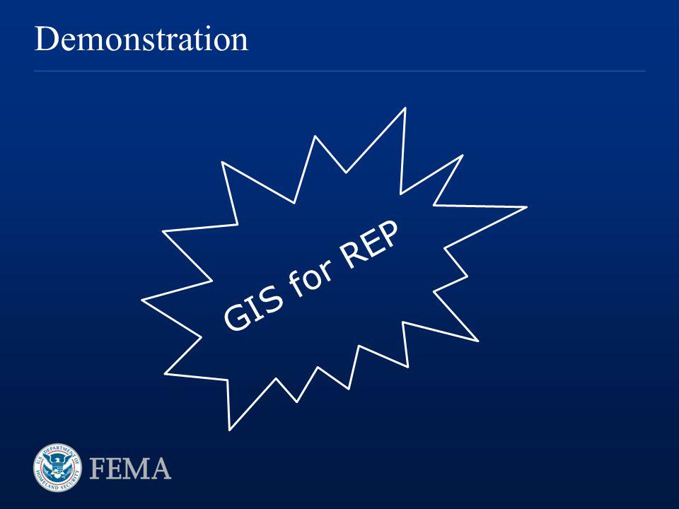Demonstration GIS for REP