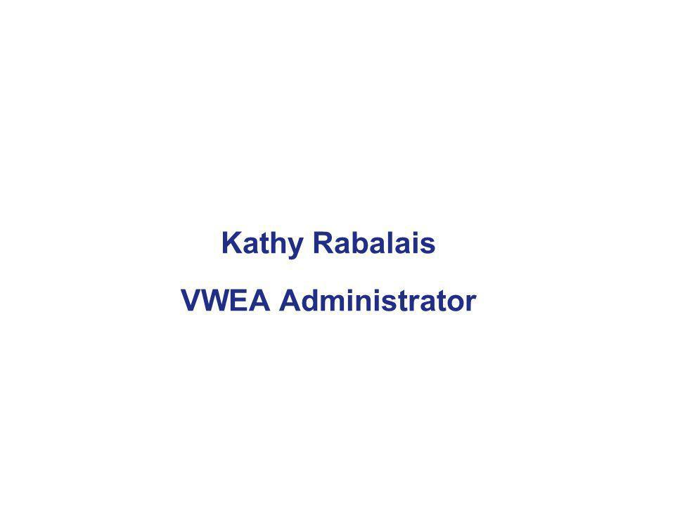 Kathy Rabalais VWEA Administrator