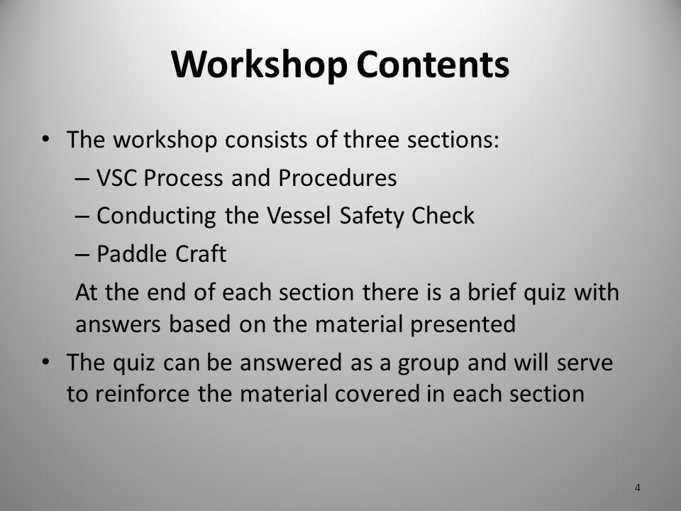 VSC Process and Procedures 5